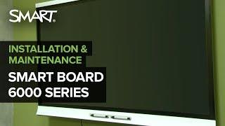 SMART Board 6000 Series Quick Installation (2017)