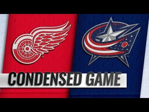 Detroit Red Wings vs Columbus Blue Jackets – Oct.30, 2018   Game Highlights   NHL 18/19  Обзор матча