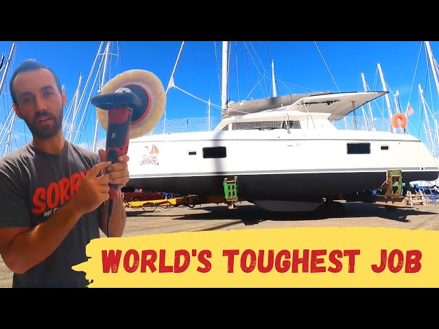 TOUGHEST CATAMARAN REPAIRS AND MAINTENANCE | The World's Toughest boat Jobs