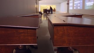Edward M  Kennedy Institute   Senate Desks by D R  Dimes