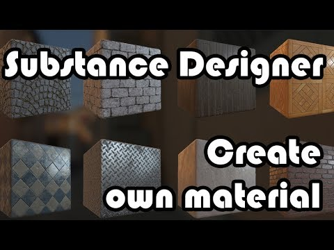 Substance designer for architect