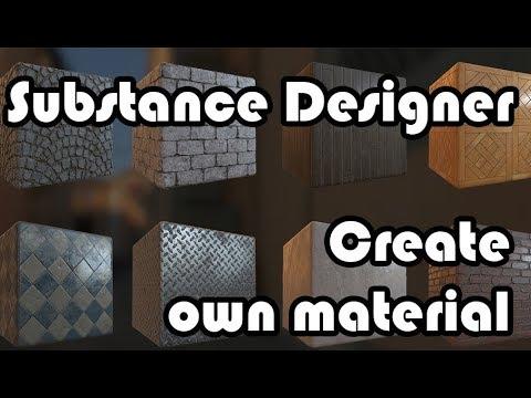 Substance designer for architect