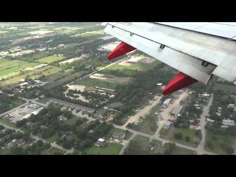 Southwest Airlines Landing At Houston Texas Hobby Airport
