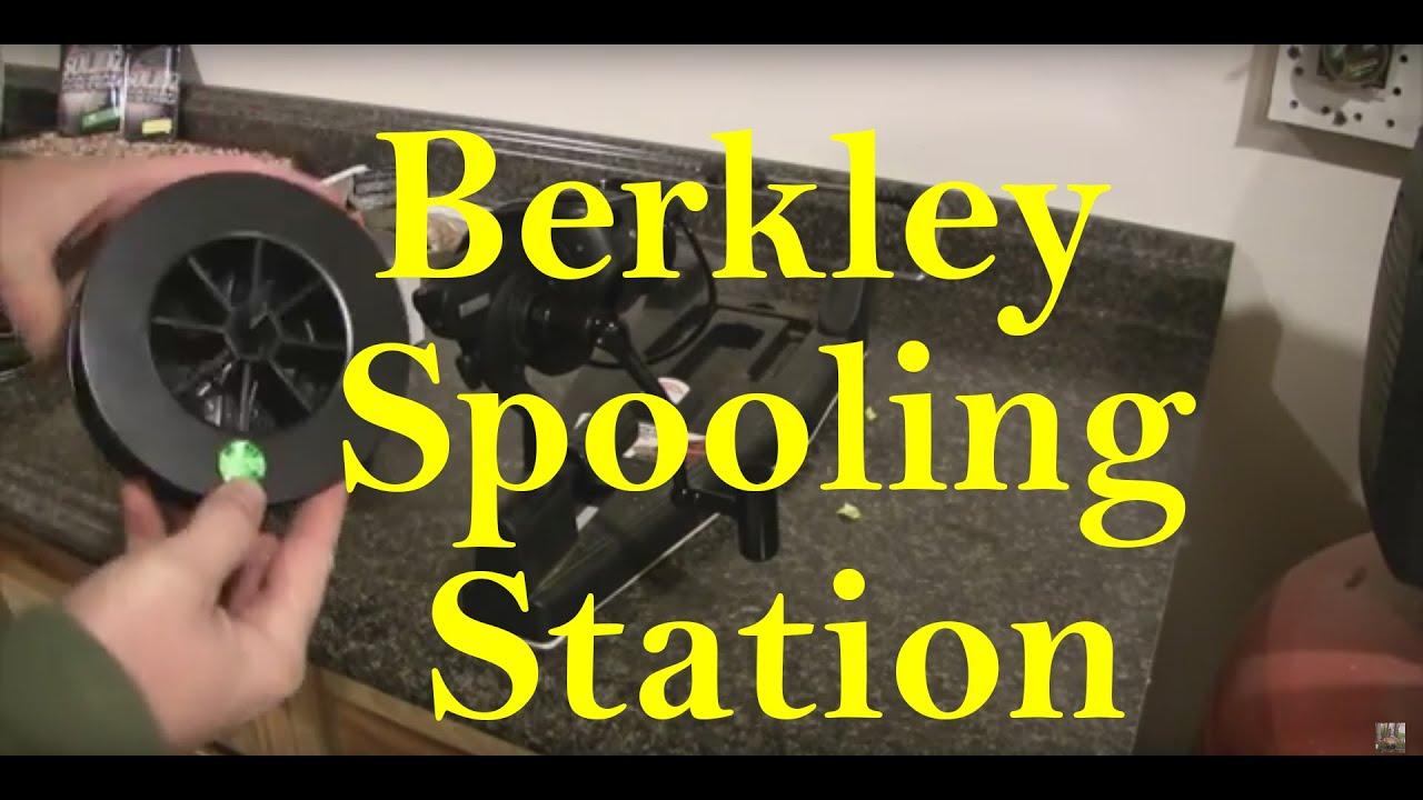 Berkley line winders - Berkley Portable Line Spooling Station Winder For My Carp Reels Youtube