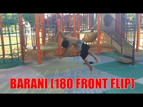 Tutorial: How To Do A Barani (180 Front Flip )