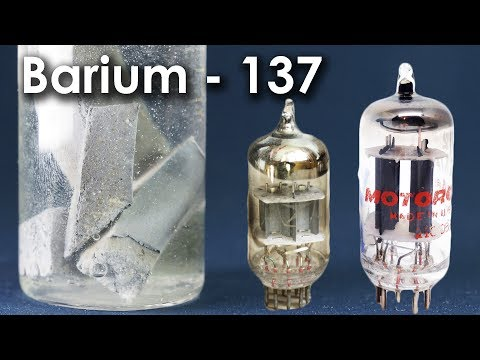 Barium  - A Metal From The VACUUM TUBE!