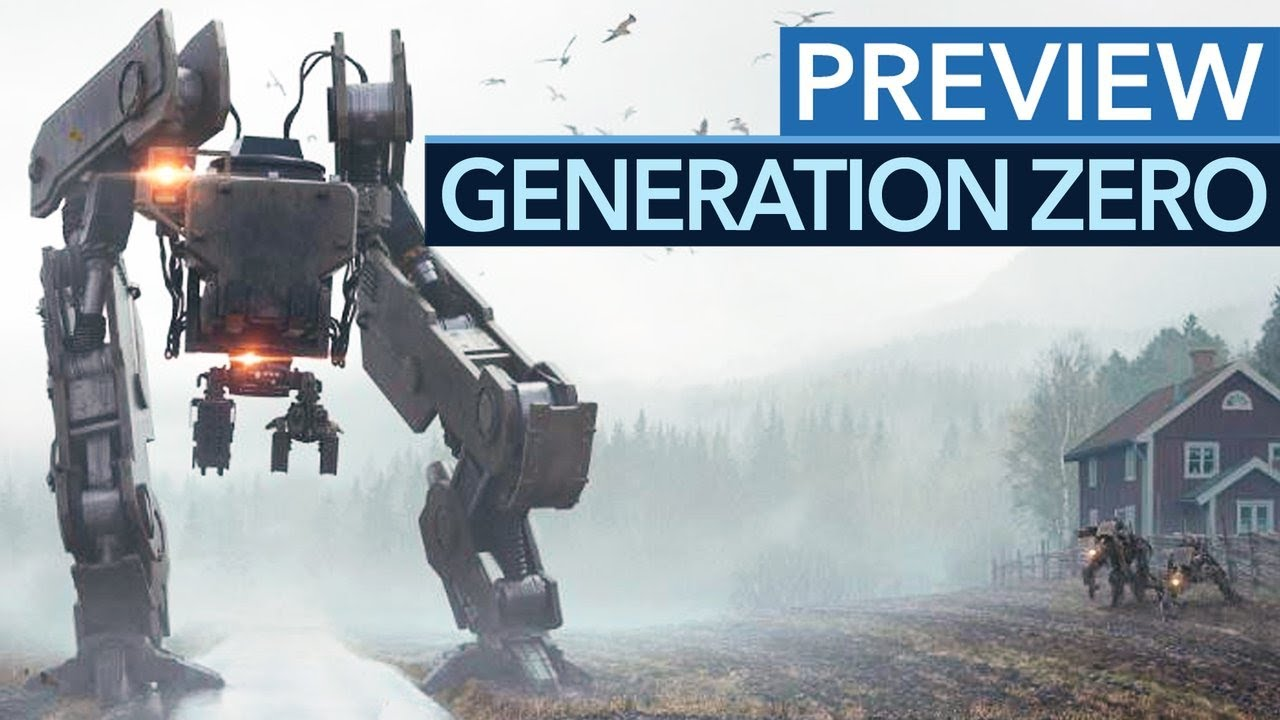 Download Generation Zero - Gameplay-Preview zum Open-World-Shooter