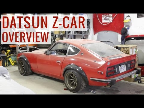 It's the Datsun Z-car in the back of the shop video