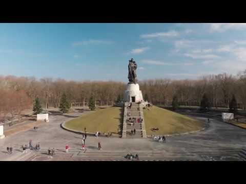 In the Soviet War Memorial.