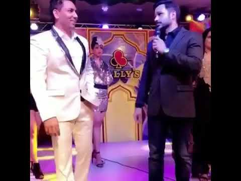 Emraan Hashmi at Ballys Casino (2018) to celebrate GOLDEN WEEK.