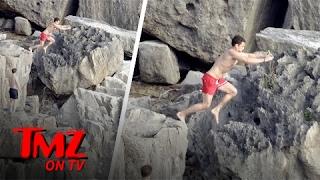Orlando Bloom Takes A Big Leap | TMZ TV