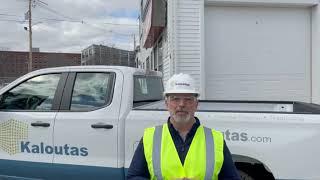 Jim Kaloutas On the Road Doing Site Visits