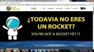 Ingresar banner de CPM Rocket en tu blog para conversiones