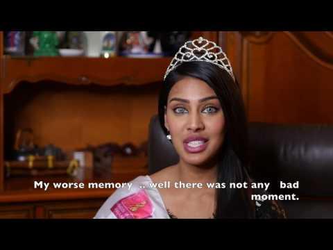 Narmadaworld interview @ Miss India Worldwide