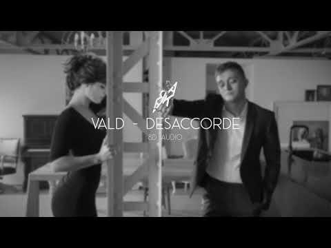 Vald - Désaccordé (8D AUDIO) 🎧