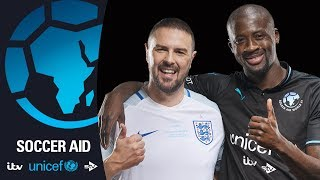 Paddy McGuinness and YaYa Touré | Soccer Aid for Unicef