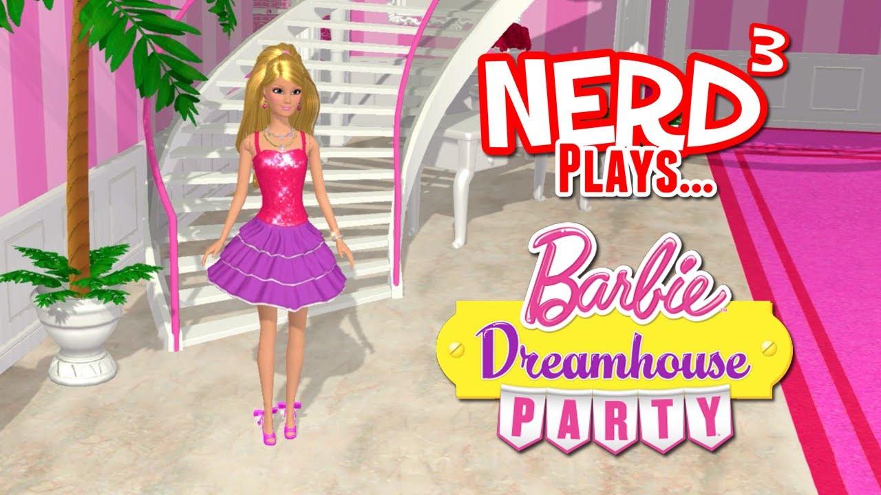 Nerd Plays Barbie Dreamhouse Party