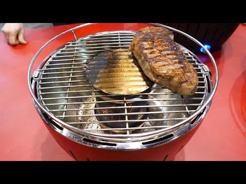Lotusgrill Hands On This Smokeless Charcoal Grill Is Perfect For Your Balcony