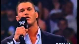 Randy Orton and Undertaker confrontation 06 23 2005