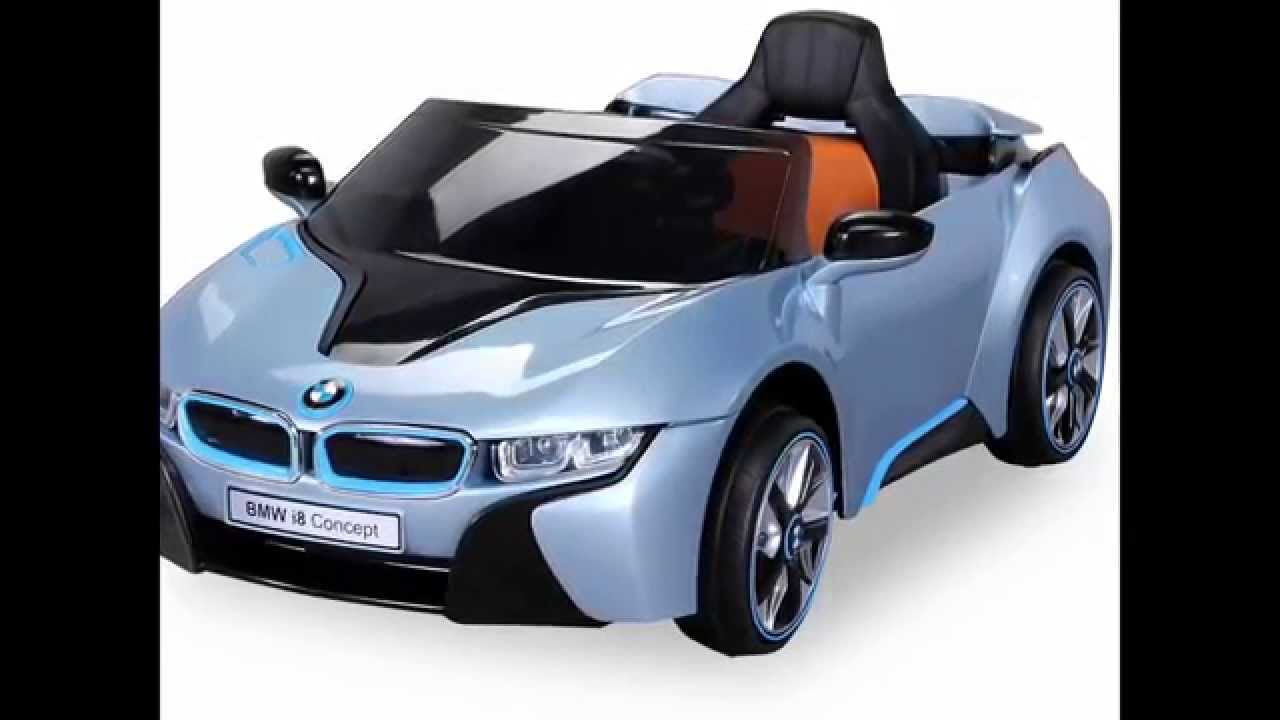 bmw concept car voiture 12 volts electrique pour enfant youtube. Black Bedroom Furniture Sets. Home Design Ideas