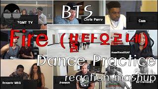 Download lagu BTS (방탄소년단) - 불타오르네(fire) Dance Practice reaction mashup