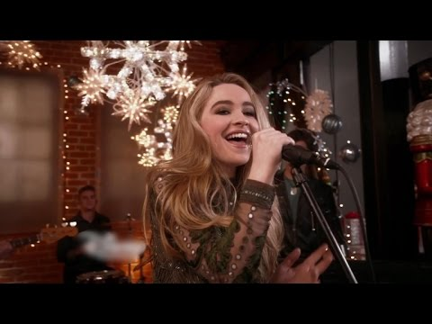 EXCLUSIVE: First Look at Sabrina Carpenter's Merry Performance for Radio Disney's Holiday Special!