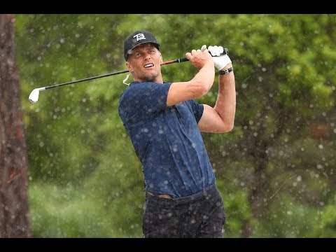 Tom Brady Drills Shot Of The Day On Hole 7 After Chuck Bets Against Him | Capital One's The Match