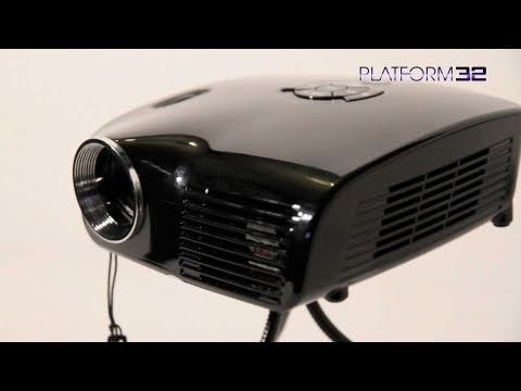 Pico genie m100 palm projector gadget review for Palm projector