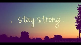 STAYING STRONG AND KEEP GOING AMIDST DIFFICULT SITUATION