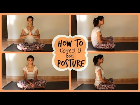 How to correct a bad posture? | Tips for healthy back