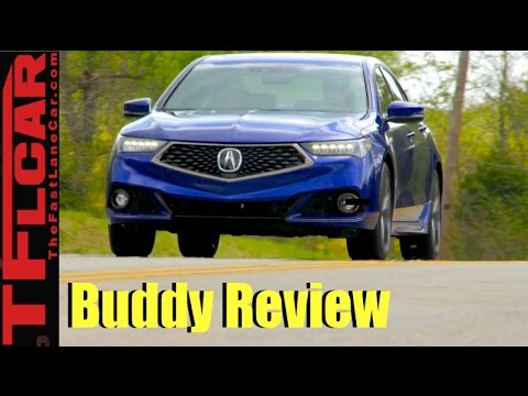 2018 Acura TLX Buddy Review: Two Friends Drive and Review the New TLX
