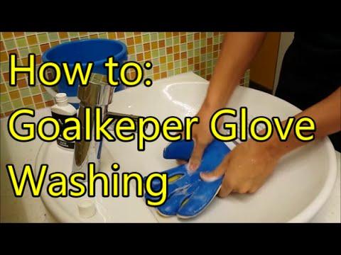 Goalkeeper How To  Glove Washing (LeonGKReview) - YouTube bd9b3c6a0