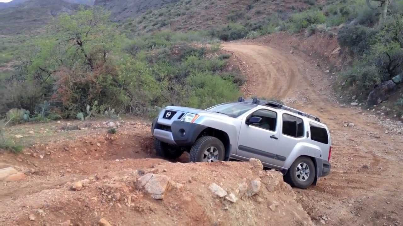 Xterra Pro 4x On Back Road To Crown King Youtube