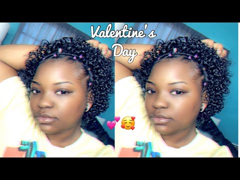 Natural Hairstyle W Jewels Rubber Band For Holidays Giveaway