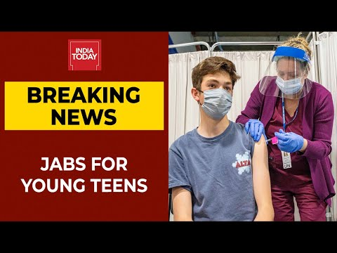 New Zealand Approves Pfizer Jabs For 12-15 Year Olds   Breaking News