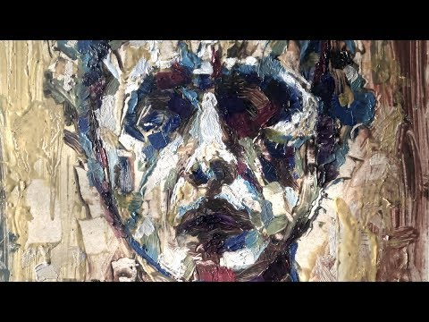 Oil Painting Portrait Tutorial, How To Paint A Person, Palette Knife And Brush Strokes