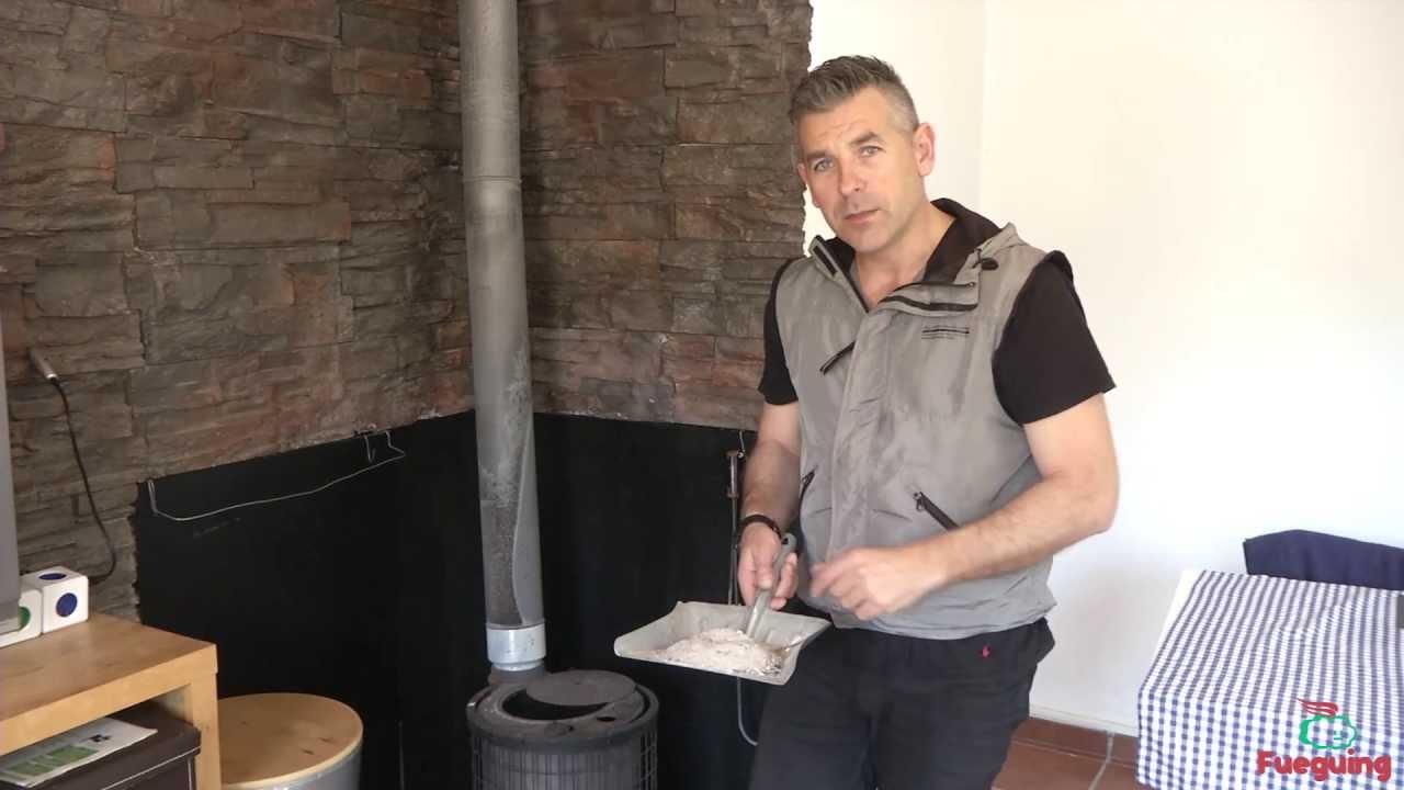 C mo limpiar la ceniza de la estufa de - Chimeneas de biomasa ...