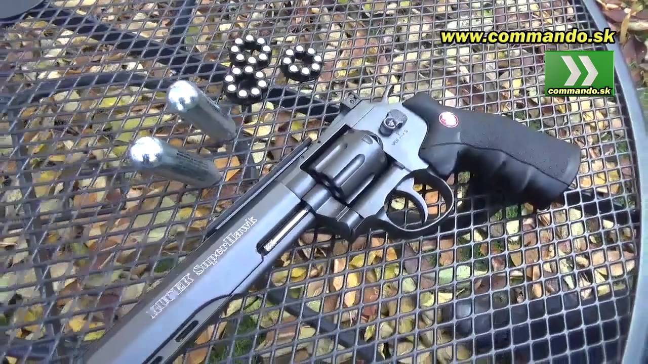 Download Airsoft revolver Ruger Super Hawk GNB CO2 6mm Umarex