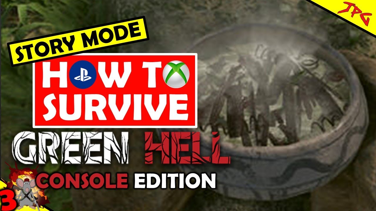 How To Survive Green Hell Part 3! Xbox Series X Gameplay! Hunting! Obsideon Tools! Making Ayahuaska