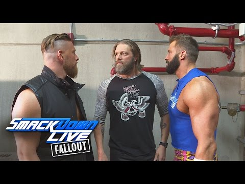 Edge reunites with The Edgeheads: SmackDown LIVE Fallout, Nov. 15, 2016