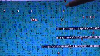 Mashiach and Politics in Israel in bible code