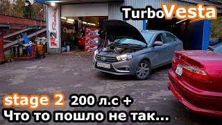 Турбо Лада Веста \