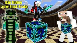 Mini Game ĐẤu TrƯỜng Lucky Block Snake Noob Team BẤt PhÂn ThẮng BẠi VỚi NhỮng ĐỒ SiÊu Vip