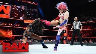 Asuka vs. Alicia Fox: Raw, Dec 18, 2017