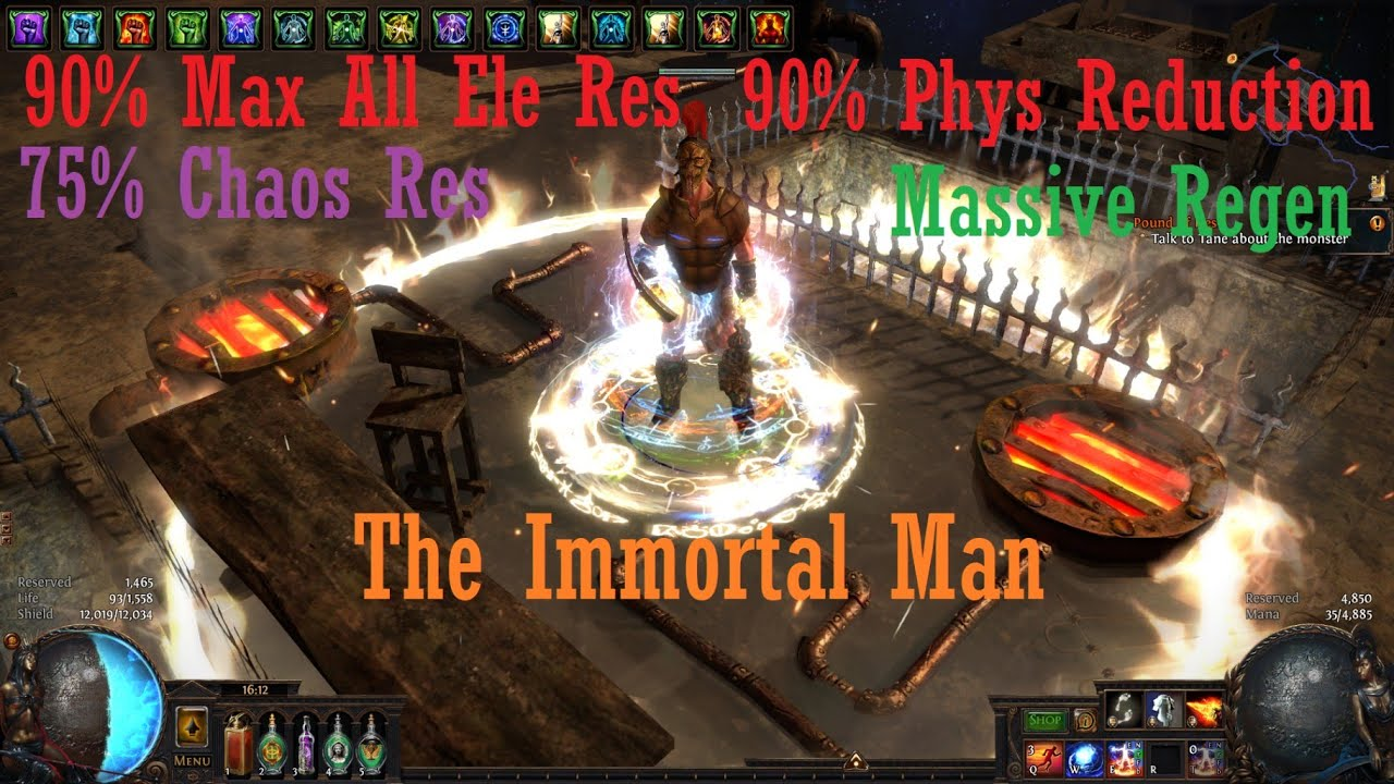 The Immortal Man ~ A Righteous Fire Guardian Build Guide/Showcase