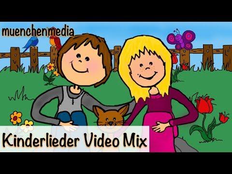 Der schönste Kinderlieder Mix -  Kinderlieder zum Mitsingen | Kinderlieder deutsch - muenchenmedia
