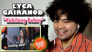 Download Mp3 SINGER reacts to LYCA GAIRANOD Kabilang Buhay live on Wish 107 5 Bus HONEST REACTION