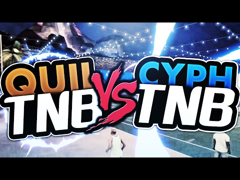 Quil TNB vs Cyph TNB 1v1! WHO'S THE BEST IN TNB?