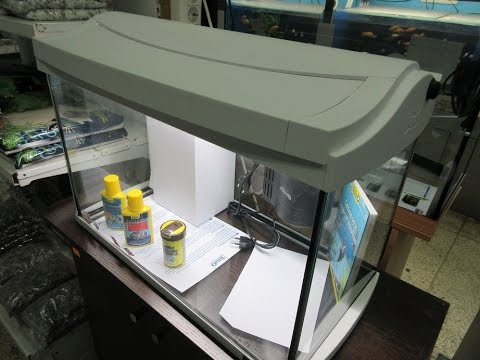Обзор аквариума Tetra AquaArt 60 литров.