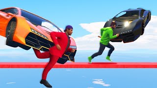 99% IMPOSSIBLE TO DODGE THE CARS! (GTA 5 Funny Moments)